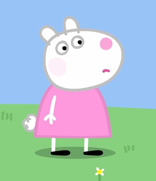 ペッパピッグの友達羊のスージー