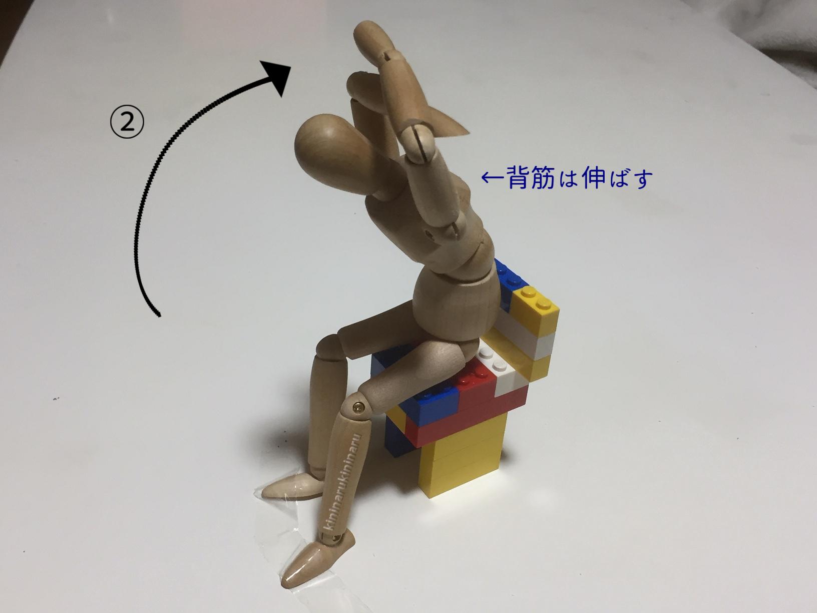 体幹リセットダイエット4つめの体操2